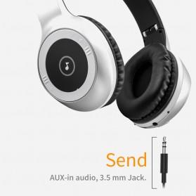 Moloke Wireless Stereo Bluetooth Headphone with Mic - T8 - Black - 8