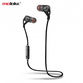 Moloke Bluetooth Sport Earphone - D9 - Gray
