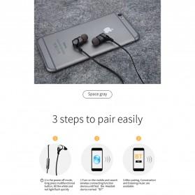 Moloke Bluetooth Sport Earphone - D9 - Gray - 2