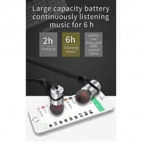 Moloke Bluetooth Sport Earphone - D9 - Gray - 4