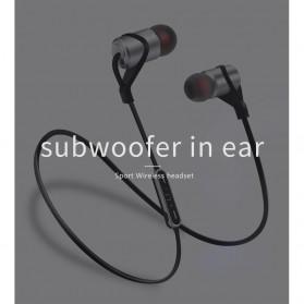 Moloke Bluetooth Sport Earphone - D9 - Gray - 8