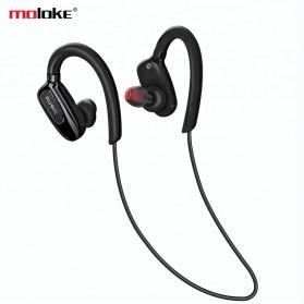 Moloke Bluetooth Sport Earphone - S5 - Black