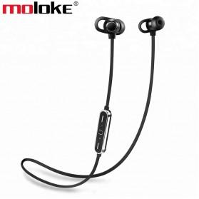Moloke Bluetooth Sport Earphone - S7 - Black
