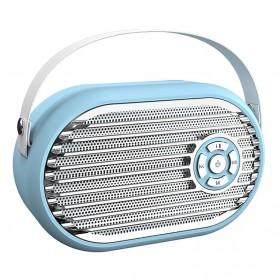 Audio  - SADA Portable Bluetooth Speaker Mini Subwoofer FM Radio - Q6 - Blue