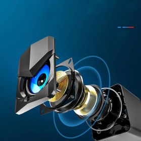 SADA Desktop Speaker Pengeras Suara Stereo 2.1 USB Power - V-158 - Black - 2