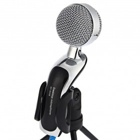 Yanmai Omnidirectional Condenser Microphone USB with Stand - SF-922B - Black - 7
