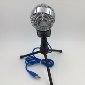 Yanmai Omnidirectional Condenser Microphone USB with Stand - SF-922B - Black - 10