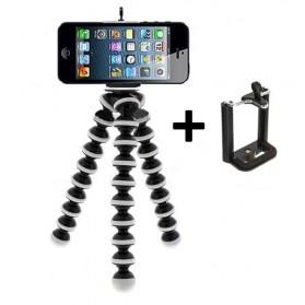 Flexible Large Tripod Gorillapod + Smartphone Clamp - Z08-B