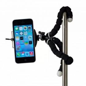 JCKEL Flexible Octopus Tripod with Smartphone Holder - MS-5 - Black - 7