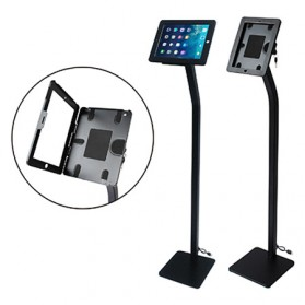 POSA Display Stand Tablet + Security Lock for iPad 9.7 Inch - IPS002F - Black