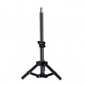 OUTMIX Light Stand Photo Studio Adjustable Portable Tripod 1/4 Thread 37 cm  - SN400 - Black