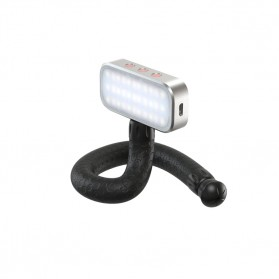 APEXEL Multifunction Mini Tripod Flexible with 1/4 Universal Smartphone Clip DSLR - APL-JJ07 - Black - 5