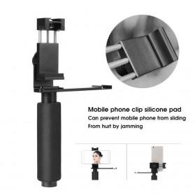 YELANGU Tripod Mount Smartphone Bracket Stabilizer - PC08 - Black - 3