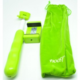 Noosy Tongsis Wireless Self Timer Monopod for iOS and Android - BR04 - Green - 11