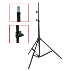 Weifeng Portable Light Stand Tripod Video & Camera - WF-8062A - Black - 4