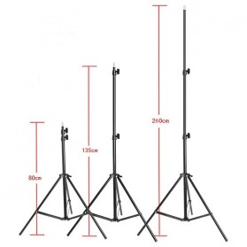 Weifeng Portable Light Stand Tripod Video & Camera - WF-8062A - Black - 5