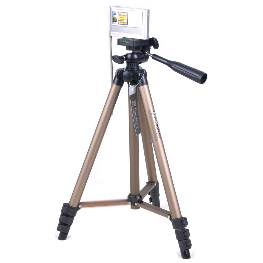 Weifeng Portable Lightweight Tripod Stand 4 Section