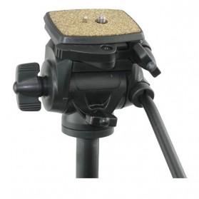 Weifeng Portable Lightweight Tripod Video & Camera with 3-Way Head - WT-3950 - Black - 2