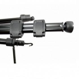 Weifeng Portable Lightweight Tripod Video & Camera with 3-Way Head - WT-3950 - Black - 5