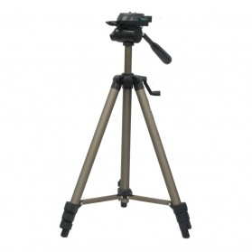 Weifeng Portable Lightweight Tripod Video & Camera - WT-3150 - Chocolate