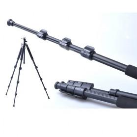 Weifeng Portable Lightweight Tripod Video & Camera - WF-3642B - Black - 3