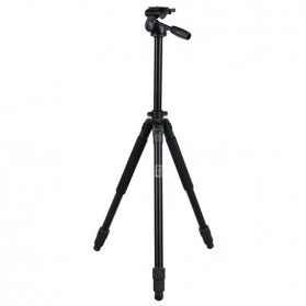 Weifeng Professional Tripod with Ballhead for Digital Camera Camcorder - WF675 (683T+6160H) - Black
