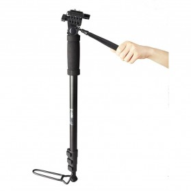 Weifeng Camera Monopod with Mini Ballhead 1700mm - WT-1005 - Black
