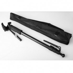 Weifeng Camera Monopod with Mini Ballhead 1700mm - WT-1005 - Black - 4