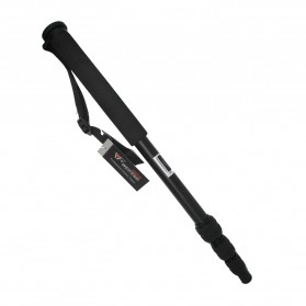 Weifeng Camera Monopod with Mini Ballhead 1700mm - WF-1701 - Black