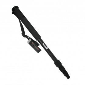 Weifeng Camera Monopod with Mini Ballhead 1700mm - WF-1701 - Black