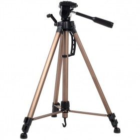 Weifeng Portable Lightweight Tripod Video & Camera - WT-3550 - Brown
