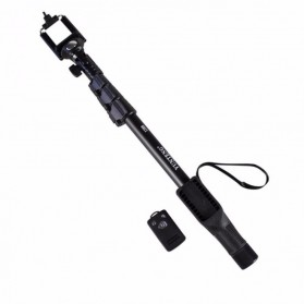 Yunteng Tongsis Wireless Bluetooth Monopod - YT-1288 (OEM) - Black