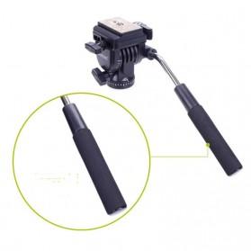 Yunteng Monopod Unipod Pan Head for DSLR - VCT-288 - Black - 4