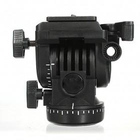 Yunteng Profesional Fluid Tripod Head - 950 - Black - 2