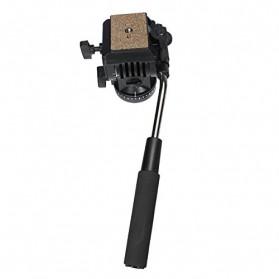Yunteng Profesional Fluid Tripod Head - 950 - Black - 4