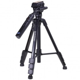 Yunteng Portable Lightweight Tripod Video & Camera - VCT-60 - Black