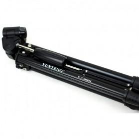 Yunteng Portable Lightweight Tripod Video & Camera - VCT-680 - Black - 3