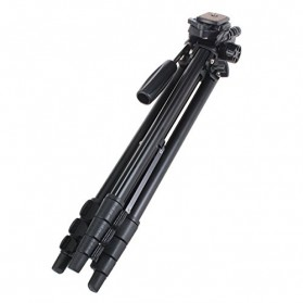 Yunteng Portable Lightweight Tripod Video & Camera - VCT-681 - Black - 4