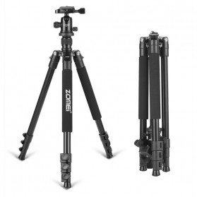 Zomei Professional DSLR Tripod & Ball Head - Q555 - Black