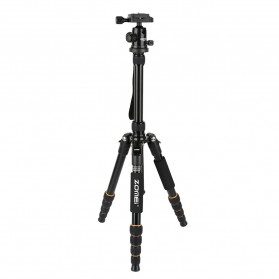 Zomei Profesional Tripod Photo & Video With Ball Head - Q666 - Black - 2