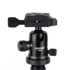 Zomei Profesional Tripod Photo & Video With Ball Head - Q666 - Black - 4