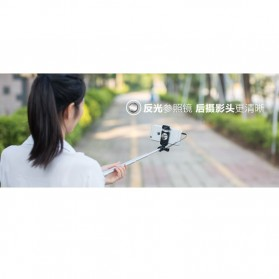 Remax Wired Selfie Stick / Tongsis - P5 - Golden - 3