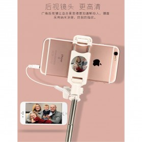 Remax Tongsis Wired Selfie Stick - PP-P6 - Black - 6