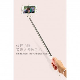 Remax Tongsis Wired Selfie Stick - PP-P6 - Black - 7