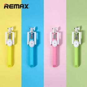 Remax Bluetooth Selfie Stick Tongsis - P3 - Blue - 3