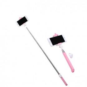 Remax Bluetooth Selfie Stick Tongsis - P3 - Blue - 10