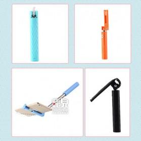 Remax XII Tongsis Wired Selfie Stick Monopod Lightning - XT-P012 - Black - 4
