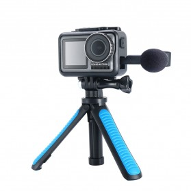 TELESIN Tripod Tongsis Foldable Selfie Pole For DJI Osmo Action - OA-SJJ - Blue