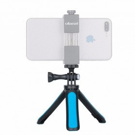 TELESIN Tripod Tongsis Foldable Selfie Pole For DJI Osmo Action - OA-SJJ - Blue - 2