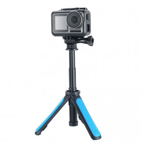 TELESIN Tripod Tongsis Foldable Selfie Pole For DJI Osmo Action - OA-SJJ - Blue - 5
